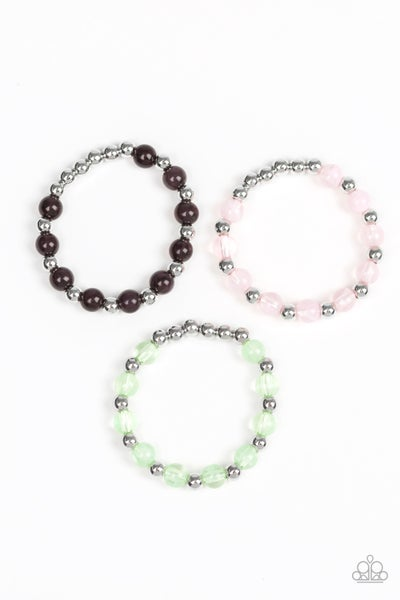Image of Girls Paparazzi Jeweled Bracelets