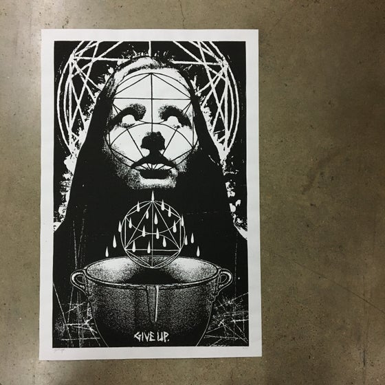 Image of 'the visited cauldron' print