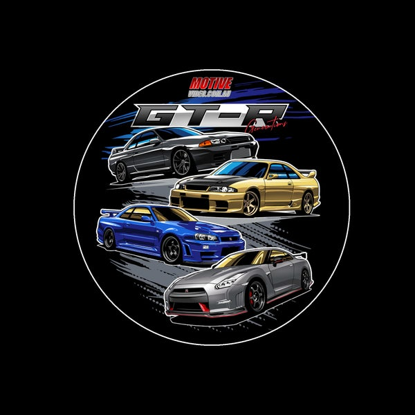 Image of GT-R Generations Sticker