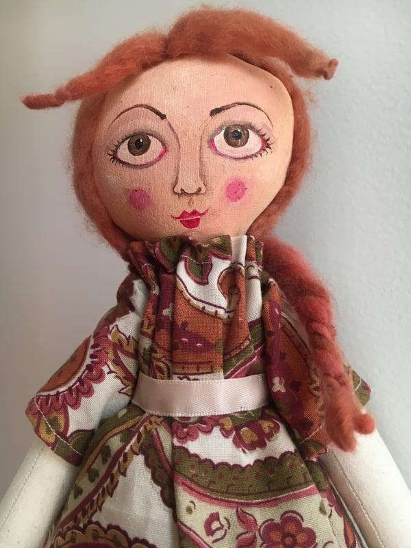 Image of Cloth Art Doll