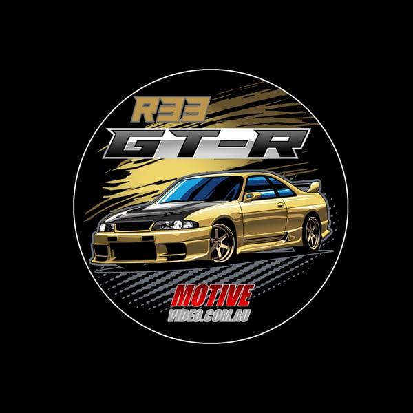 Image of R33 GT-R Sticker