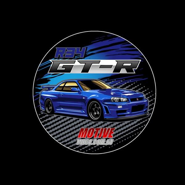 Image of R34 GT-R Sticker