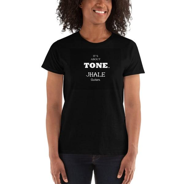 Image of jhaleguitars IT'S ABOUT TONE Ladies' T-shirt