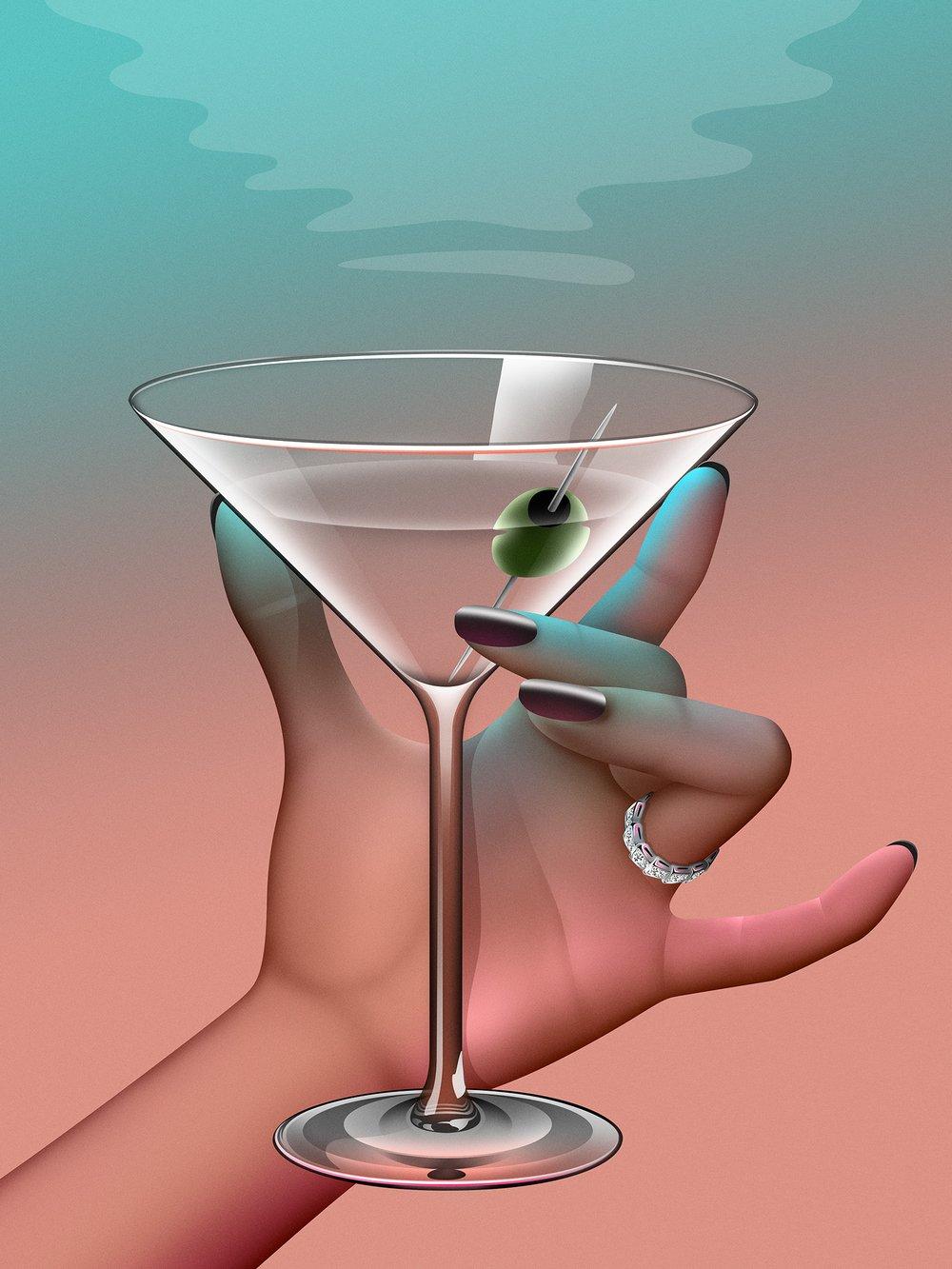 Image of Midnight Martini