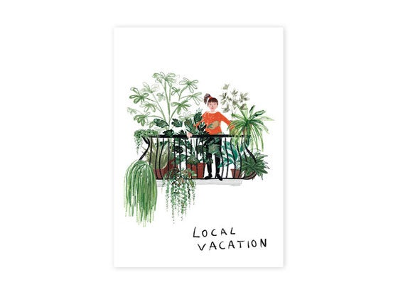 Image of POSTKARTE Local Vacation