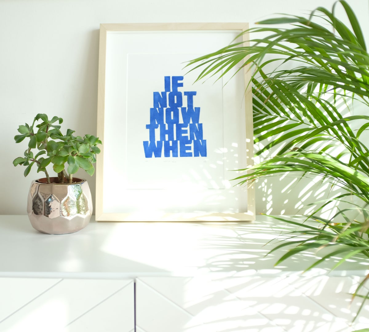 If Not Now Then When - Blue