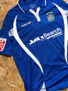 Match Worn 2009/10 Macron Home Shirt