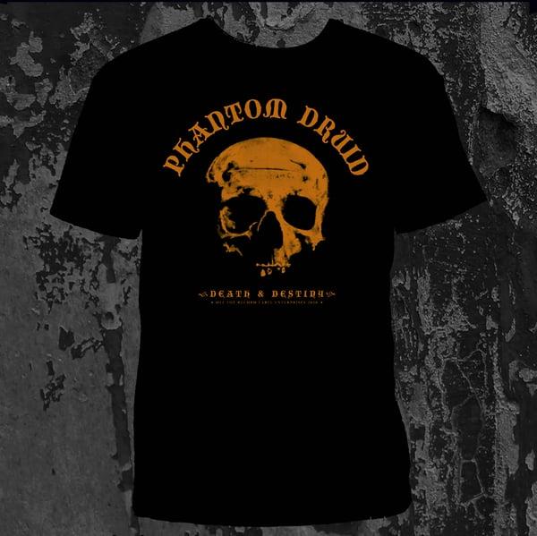 Image of PHANTOM DRUID - Death & Destiny. T-Shirt