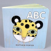 Image of ABC children's board book by Matthew Porter