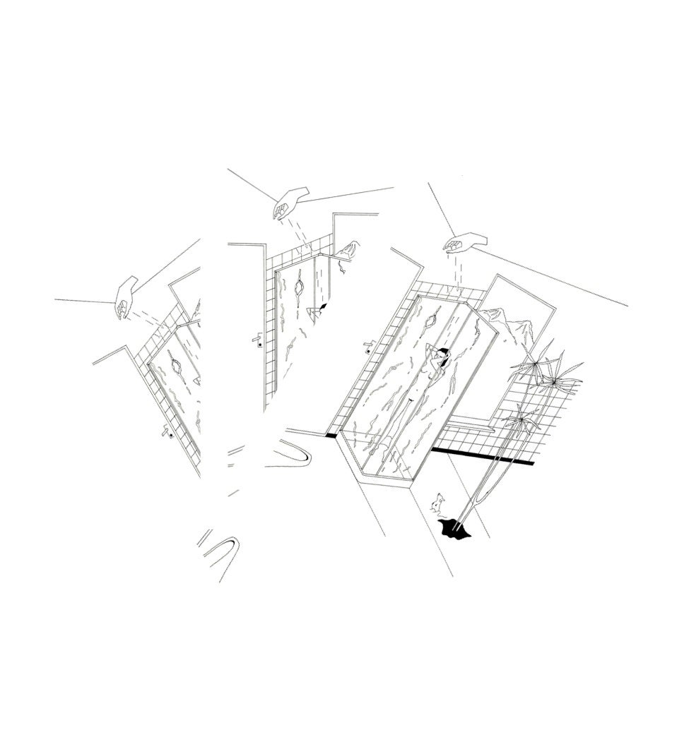 Image of Shower#1   (Giclée print )