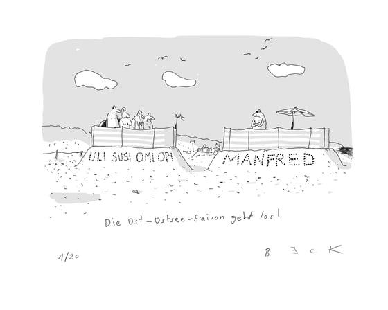 Image of schneeschnee Cartoon des Tages