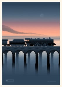 Image of Night Train Artprint