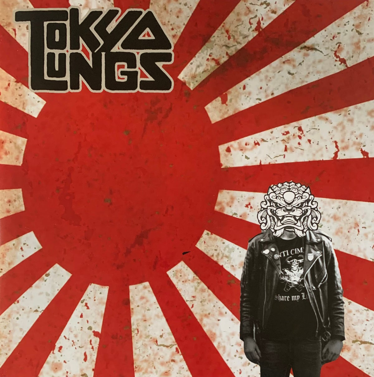 Image of Tokyo Lungs S/T EP black vinyl 7-inch record