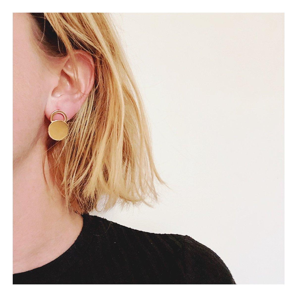Boucles d'oreilles puces THAIS