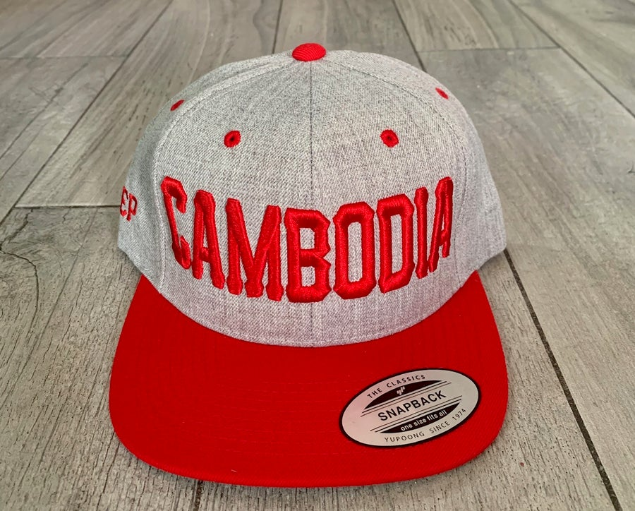 Image of Rep Cambodia 3D Snapback