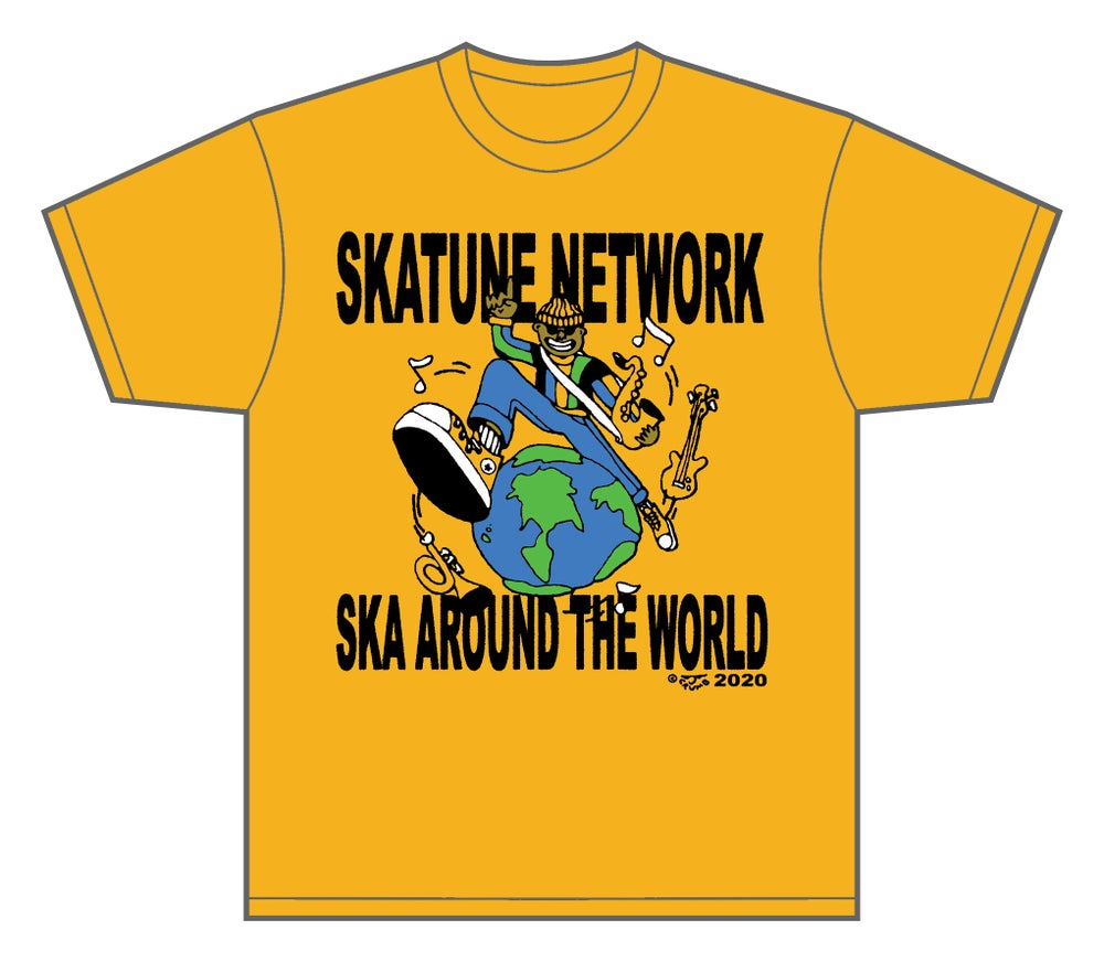 Image of Ska Around the World T-Shirt   4XL ONLY