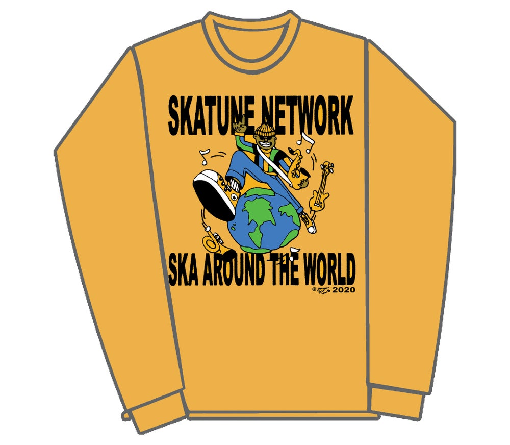 Image of Ska around the world - Long Sleeve | SMALL ONLY 1 left!!