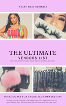 Image 1 of The Ultimate Vendors List