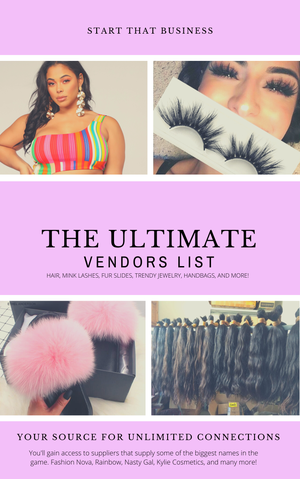 Image of The Ultimate Vendors List