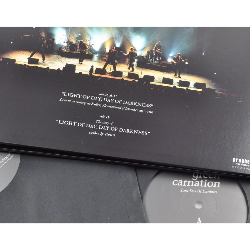 SIGNED COPY - Last day of Darkness Double gatefolded vinyl