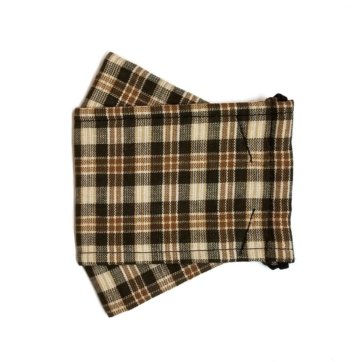 Limited Edition <br /> <br />3D Mask <br />Brown Plaid Cham