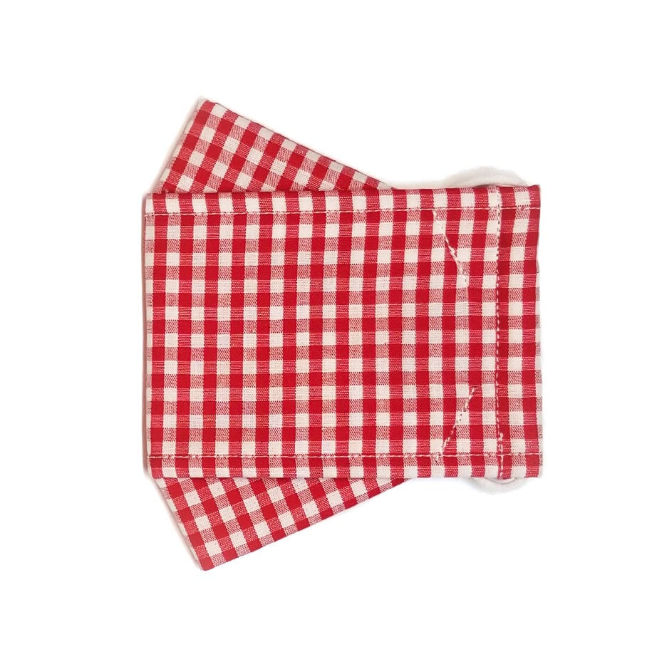 Limited Edition <br /> <br />3D Mask <br />Red Plaid