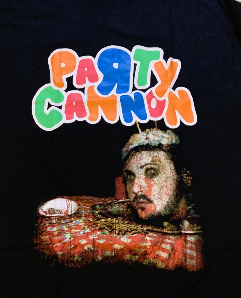"""Image of Officially Licensed Party Cannon""""Perverse Party Platter"""" Cover Art Short and Long Sleeve Shirts!"""