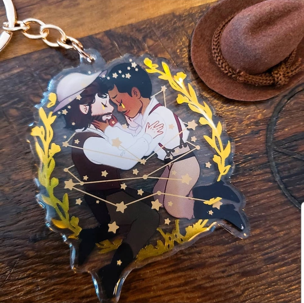 Image of WarmMorris Charm (Gold Foil)