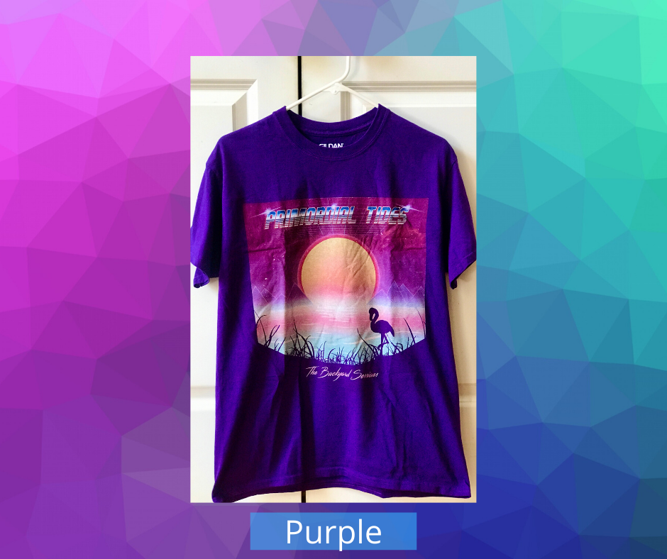 Image of The Backyard Sessions EP Shirt (Purple)