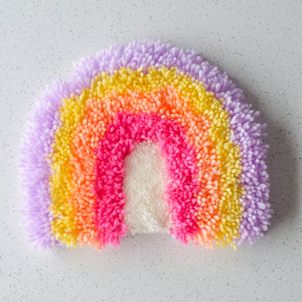 Image of Rainbow wall hanging #6