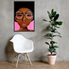 """""""Girl of Your Dreams"""" Framed poster"""
