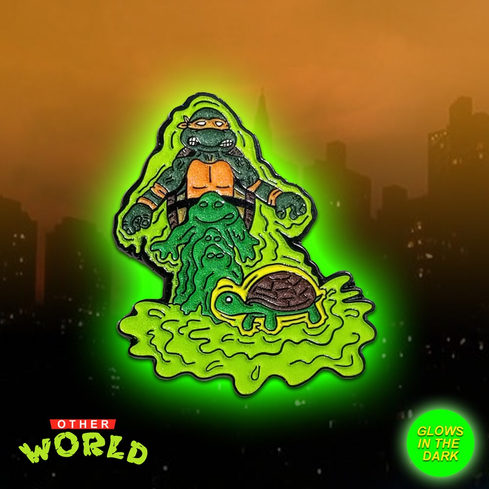 Image of Mutation Mikey lapel pin