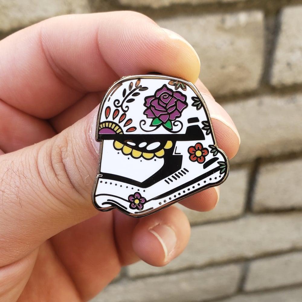 First Order Calavera Enamel Pin