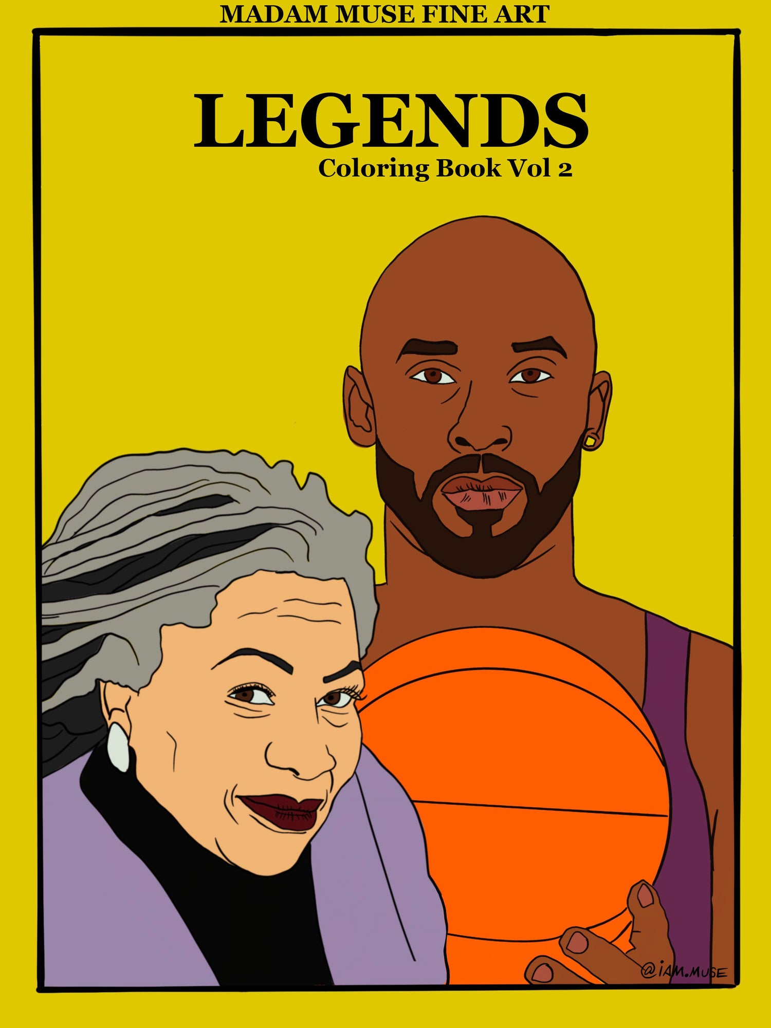"Image of ""Legends Vol 2"" Coloring Book"