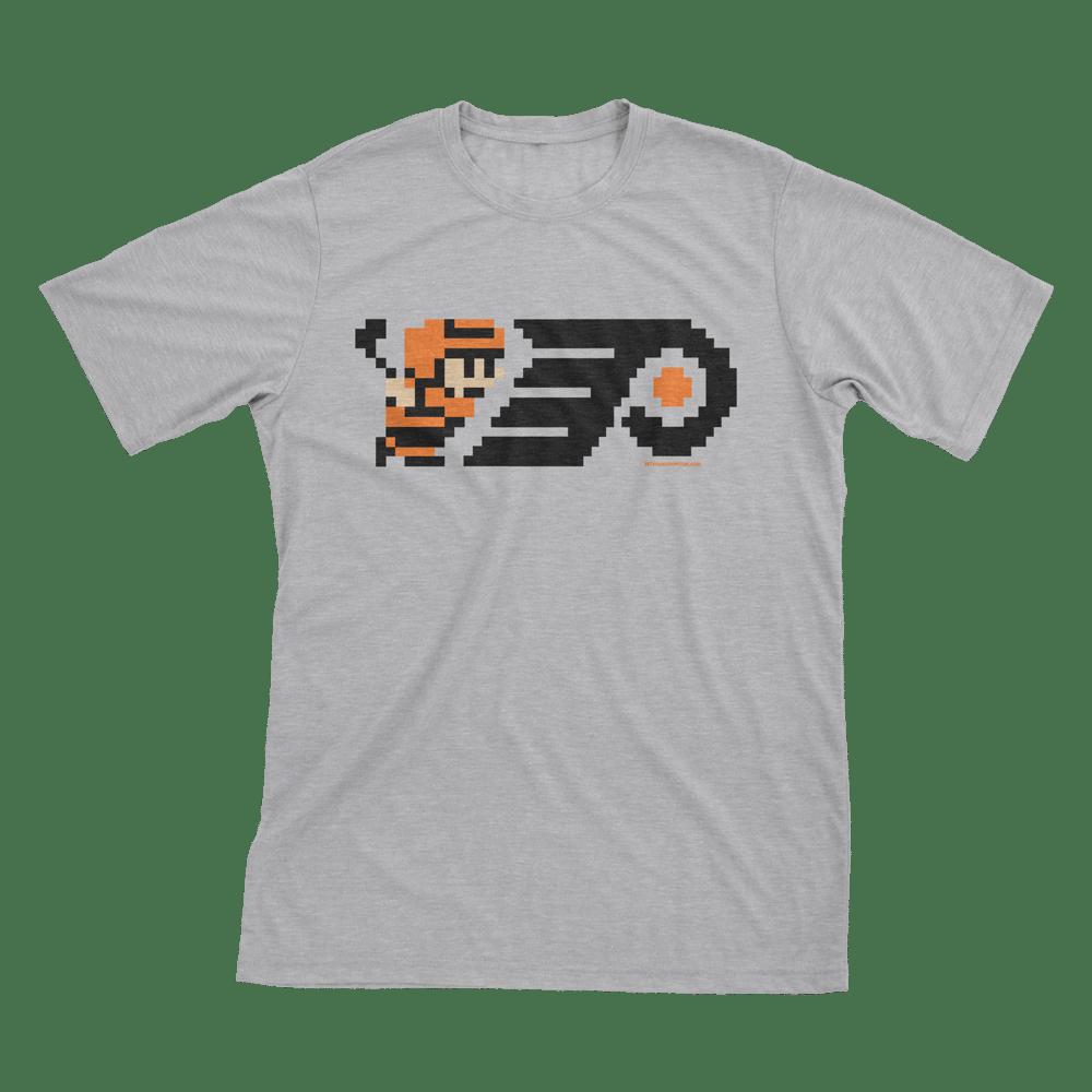 Image of 8-Bit Philly Hockey T-Shirt