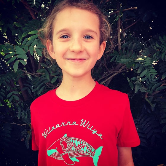 Image of Kids Wilaarra Wiiya (Big Fish - Whale) Tee