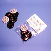Image of Not Made In China Badge Set