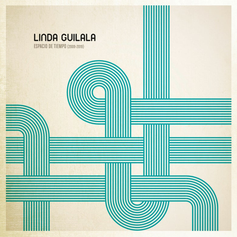 "Image of LINDA GUILALA Espacio De Tiempo (2009-2019) (Double Clear 12"" Vinyl Gatefold or CD)"