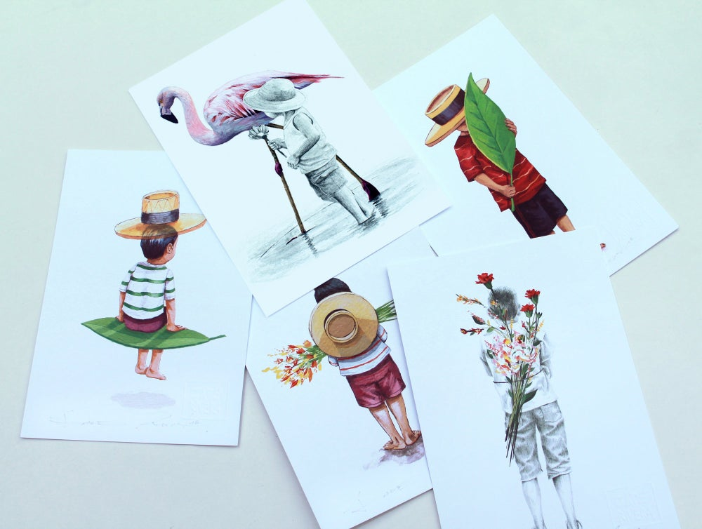 Image of Pack 5 Prints.