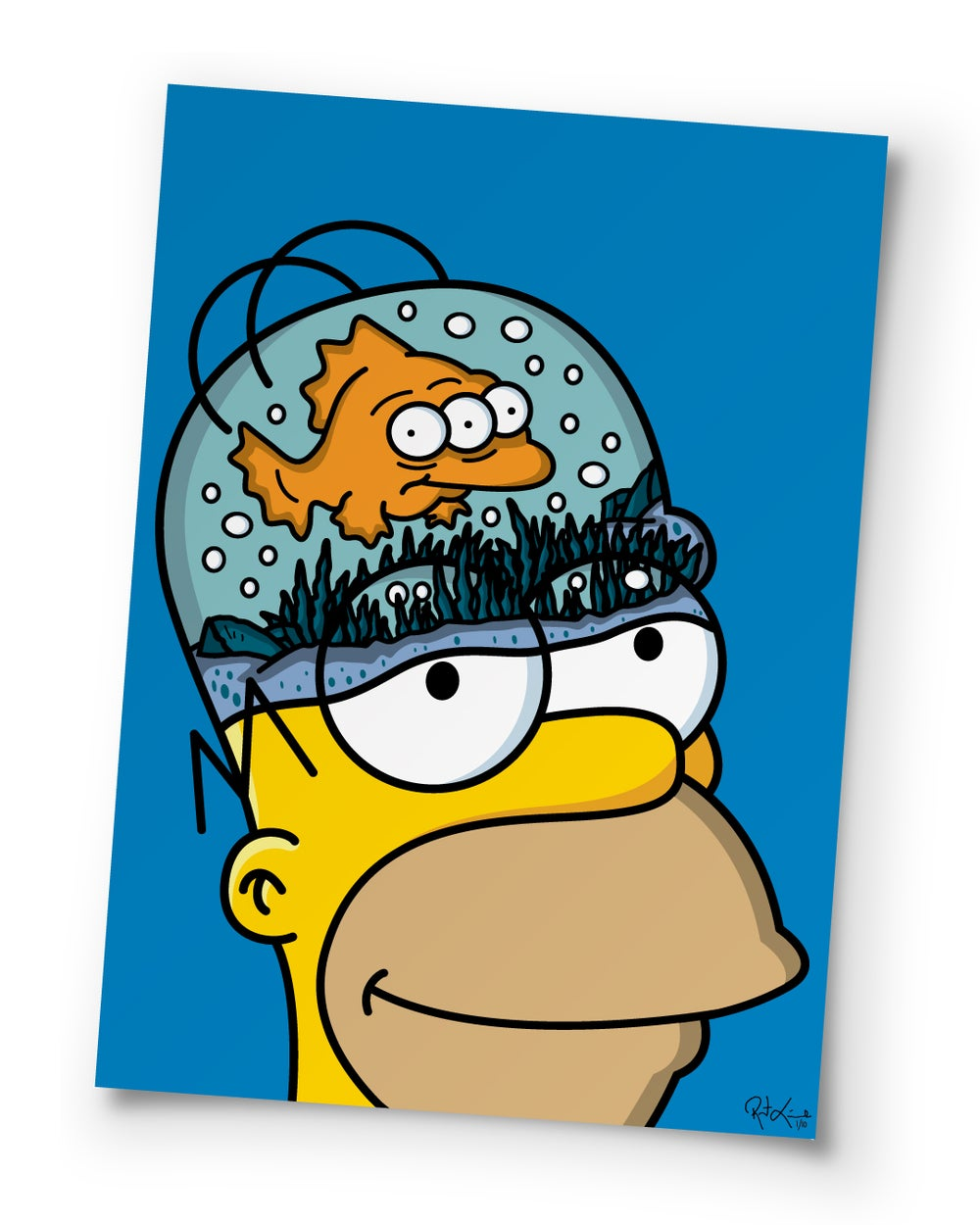 Image of Blinky in the Brain - 27 inch - Poster Print