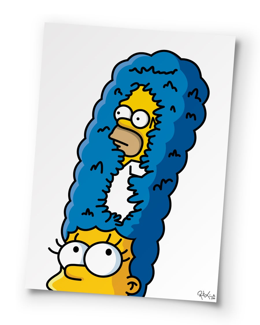 Image of D'oH Sorry Marge - 27 inch - Poster Print