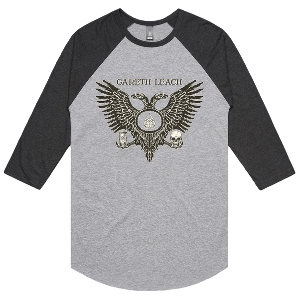 Image of Hourglass of Time - 3/4 Raglan