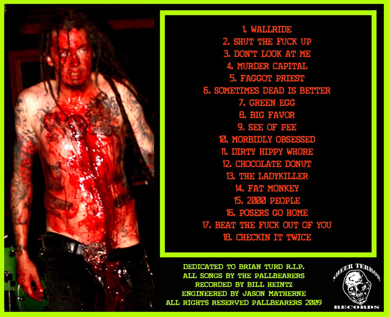 "Image of The Pallbearers ""Murder Capital"" CD"