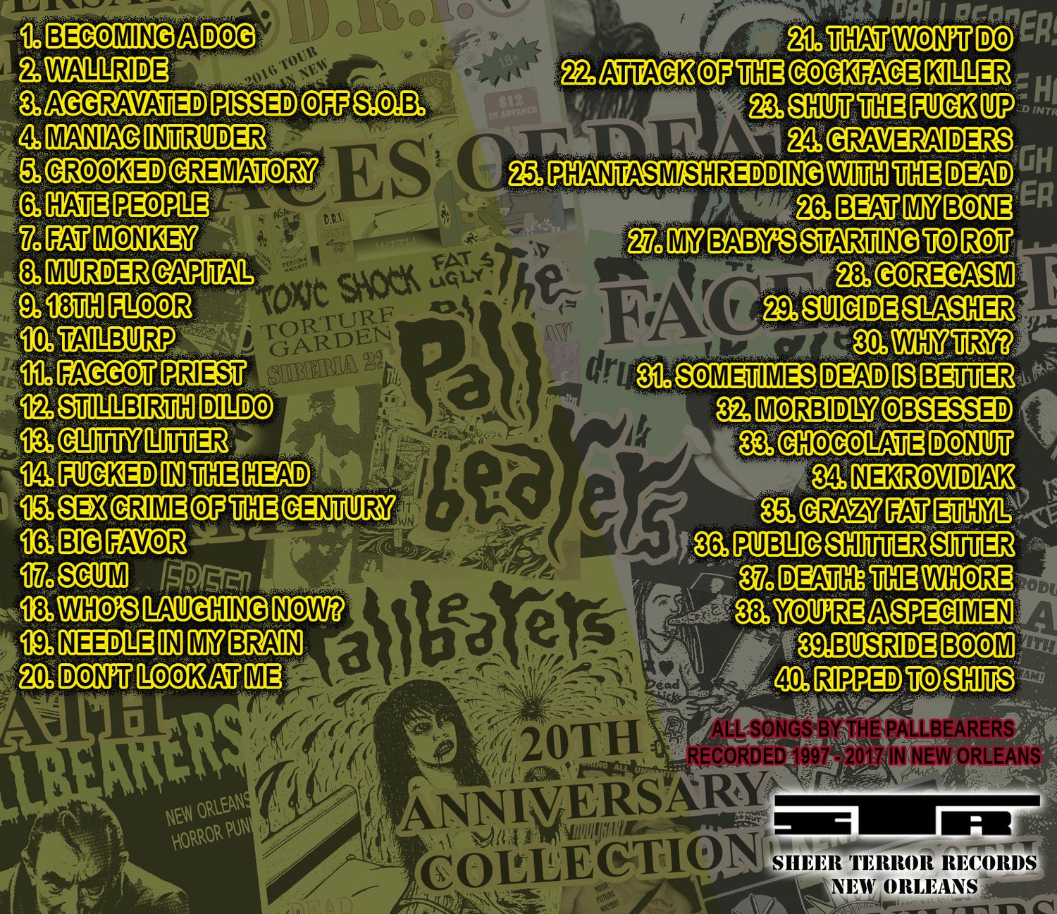 """Image of The Pallbearers """"Faces Of Death"""" CD"""