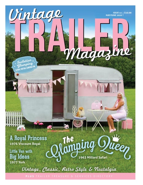 Image of Issue 41 Vintage Trailer Magazine