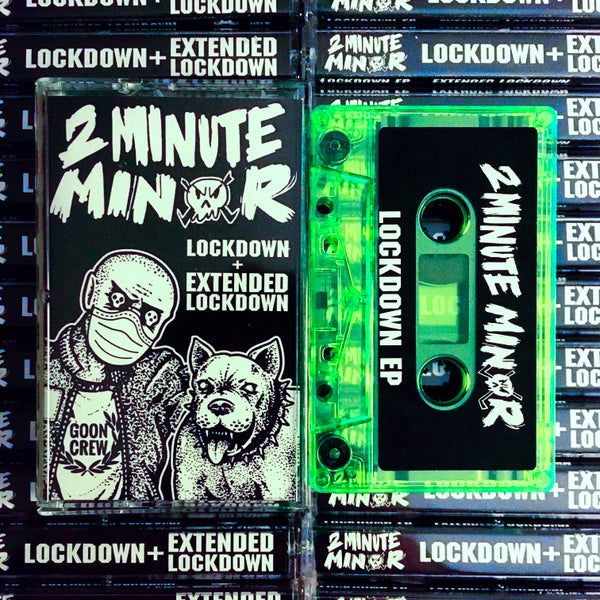 Image of Lockdown and Extended Lockdown EPs on Cassette