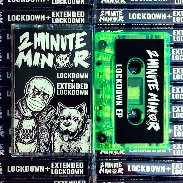 Image of Lockdown and Extended Lockdown EPs on Cassette