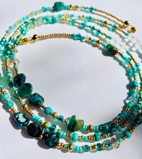Image of Turquoise Goddess | Positive Thinking | Stress Releaf | Good Luck