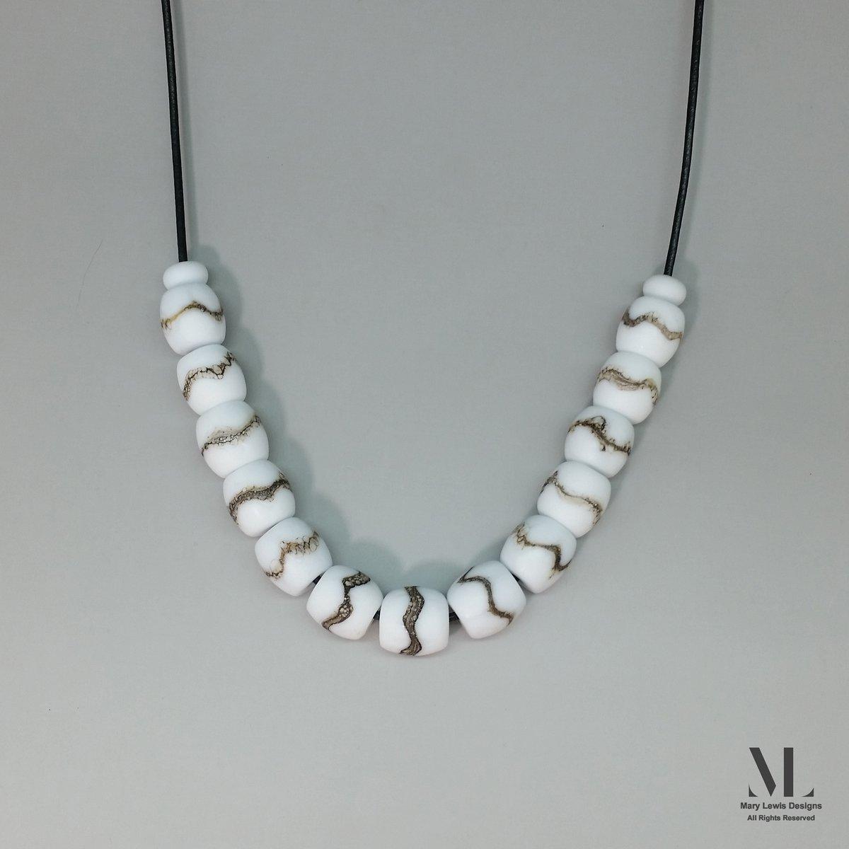 """Winter White"" Necklace"