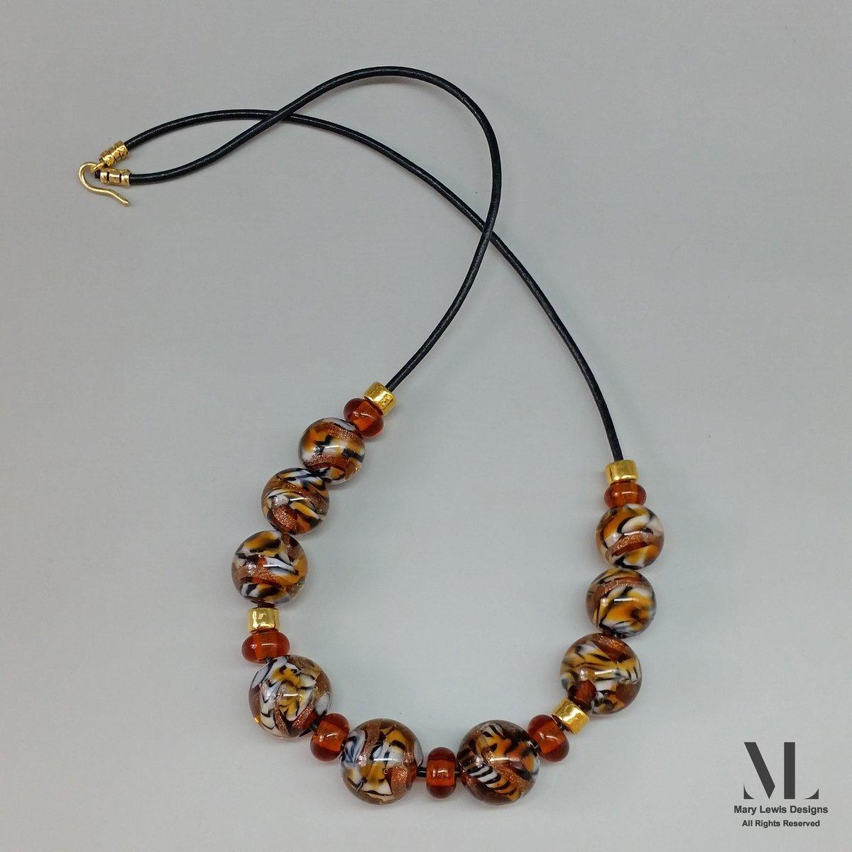 """""""Tiger Tiger"""" Necklace"""
